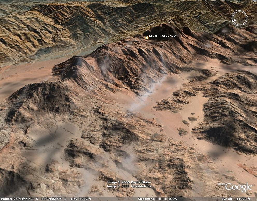 Jabel al Loz (Mount Sinai?)