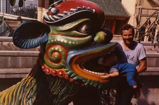 Nick and Dad In Hong Kong
