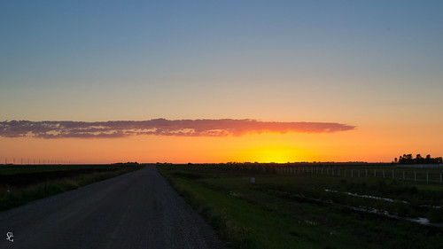 sunset color rural flat dusk northdakota horace ruralroad
