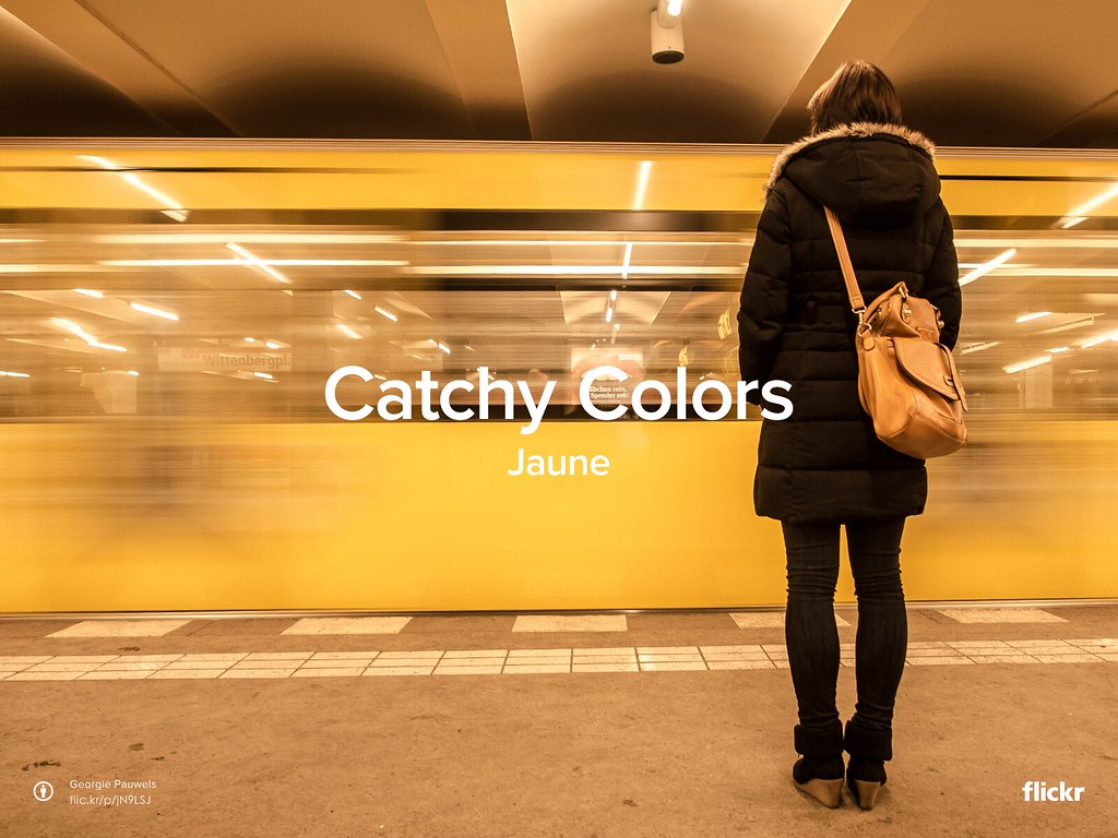 Catchy colors : Jaune (Yellow)