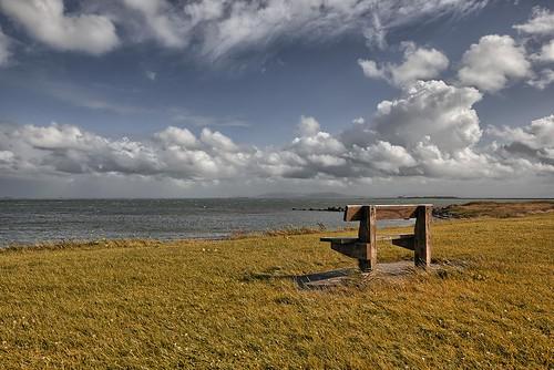ireland galway beach nature clouds bench nikon shore d750 gazzda hrvojesimich sigmaart241l4