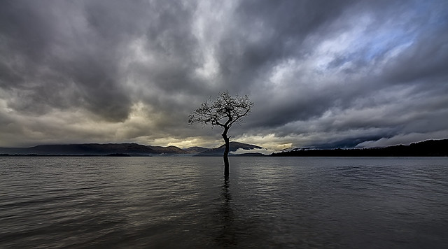 Milarrochy bay Loch Lomand Scotland { re-edit } 12/2015