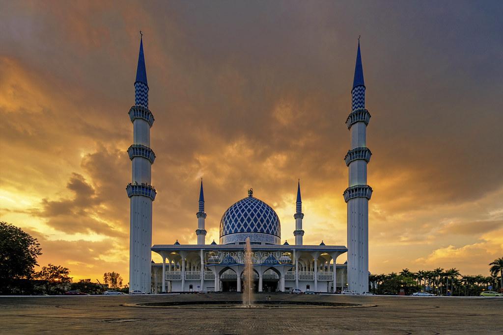 Masjid Sultan Salahuddin Abdul Aziz Shah Shah Alam Flickr