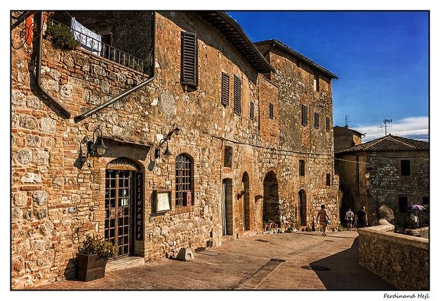San Gimignano_Tuscany_Italia