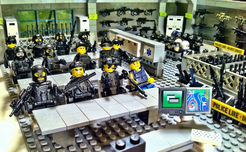 Lego Us Army Delta Force Urban Warfare Unit Trains With Flickr