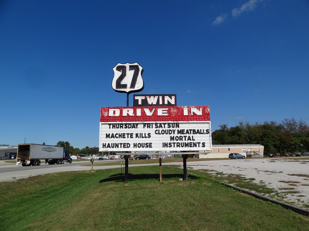 27 Twin Drive-In sign, Somerset, KY