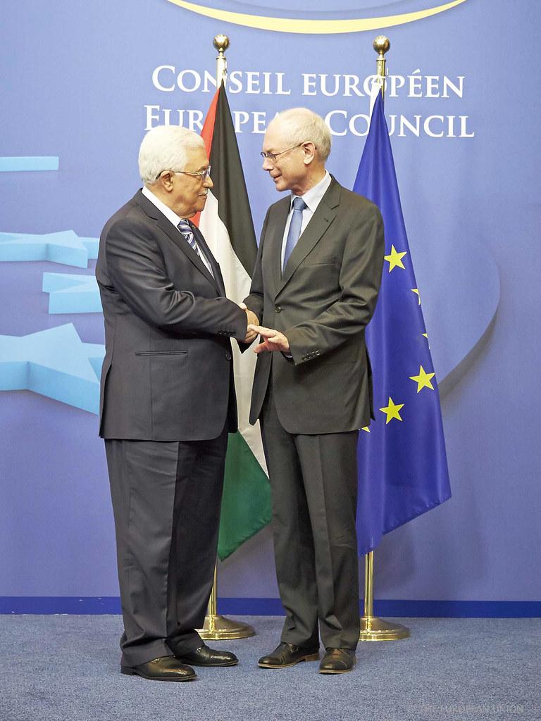 President VAN ROMPUY meets Mr Mahmoud ABBAS, President of …   Flickr