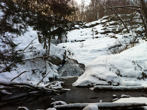 Snow hike to Cunningham Falls | by apg