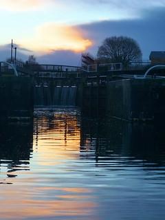 Maryhill Locks Flight Sunrise (2)