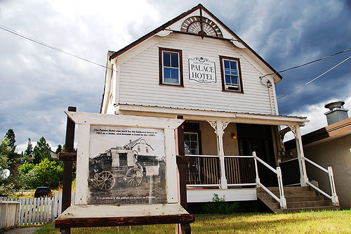 The Palace Hotel, Clinton, Highway 97, Cariboo, British Columbia, Canada