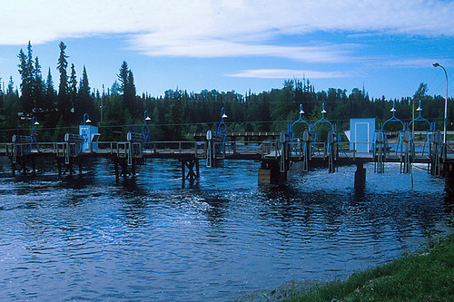 Granisle Fish Hatchery, Granisle, Babine Lake, Northern British Columbia, Canada