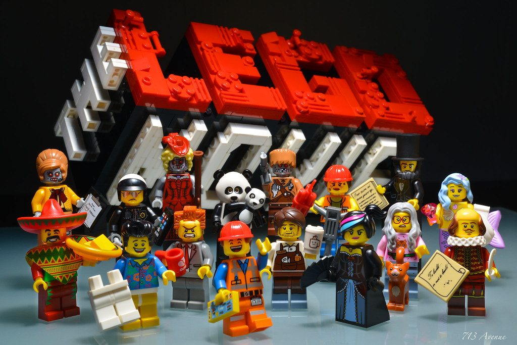 Lego 71004 The Lego Movie Collectible Minifigures Flickr