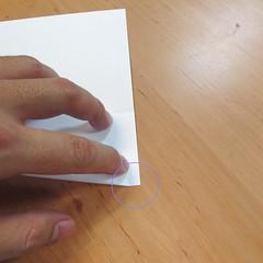 สอนการพับกระดาษเป็นที่ใส่ของรูปกลีบกุหลาบ (Rose box origami) 005
