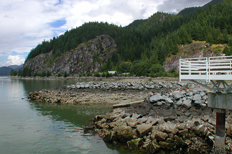 Porteau Cove Park, Howe Sound, Sea to Sky Highway, British Columbia, Canada