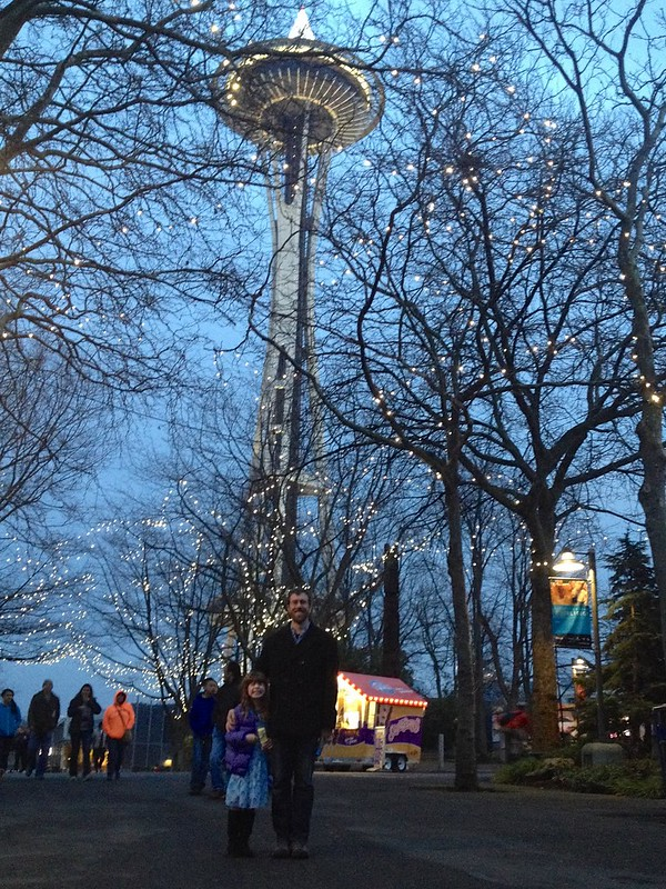 Space Needle and Family