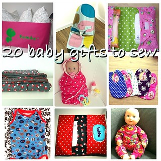 20 baby gifts to sew - 20 babycadeautjes om zelf te naaien, Laloe.be | by Laloe.be