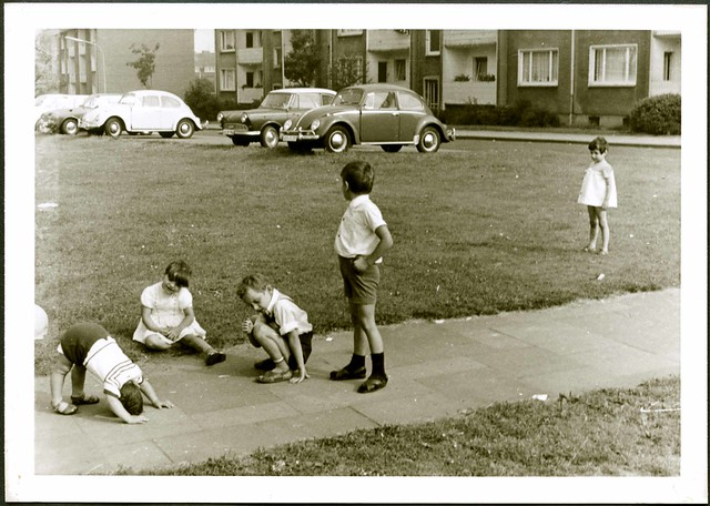 Spielende Kinder, Bottrop 1971