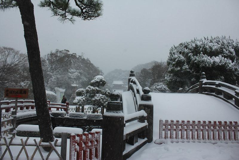 雪の鎌倉_13