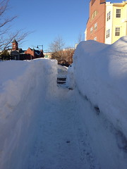 Salem, MA sidewalk