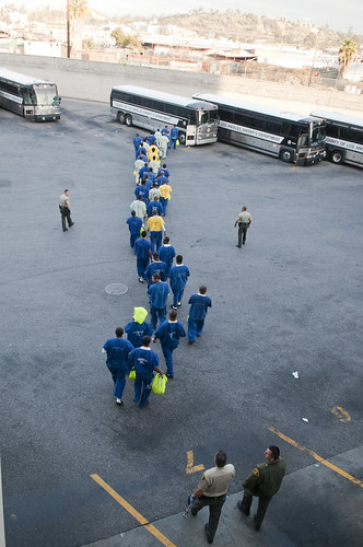 8591: Deputies Escort Inmates to Buses | by NationalSheriff