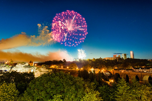 Nationalfeierdag fireworks   by kewl