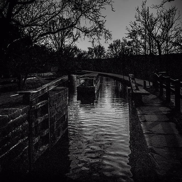 Horse Drawn Barge At Sunset On The Chesapeake & Ohio Canal, Georgetown, Washington, DC