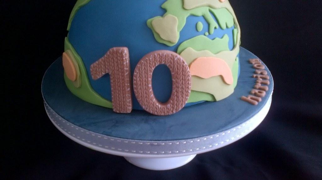 Marvelous Little Big Planet Cake Number Done Sackboy Style Flickr Birthday Cards Printable Riciscafe Filternl