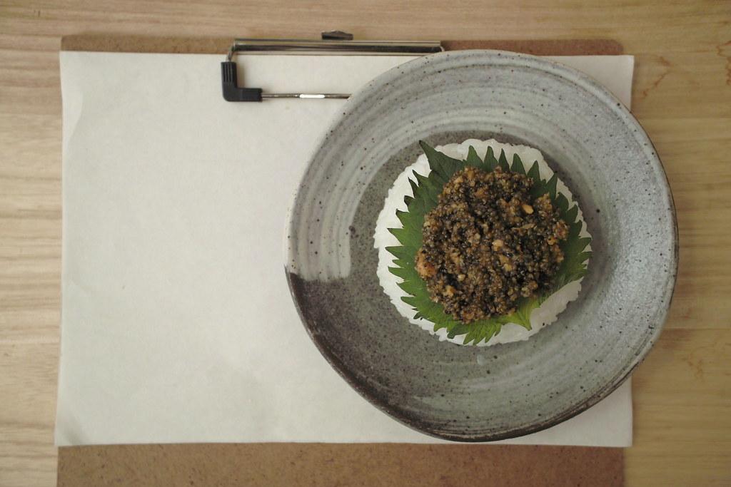 224.とんぶり/Tonburi/Belvedere fruit & Horseradish