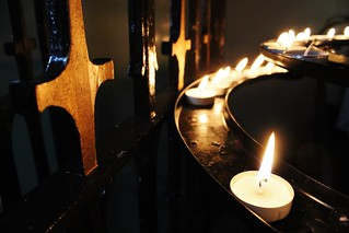 Candles and Cross | by GlasgowAmateur