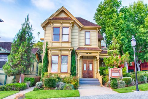 Bushyhead House, Heritage Park, San Diego, CA