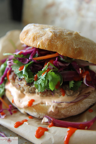 Grilled Asian Pork Burger | by Heather Christo