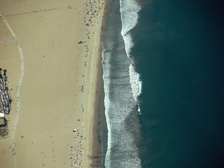 Santa Monica Beach, near the Annenberg Community Beach House