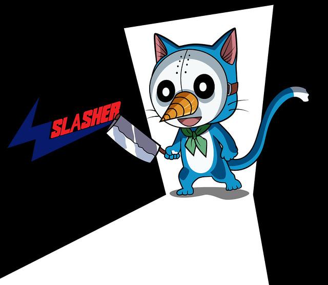 [Fairy Tail] Happy the Slasher !
