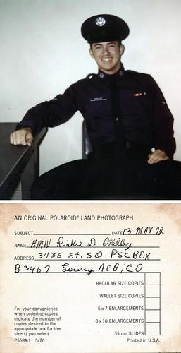 Airman Rickie D O'Kelley USAF May 13 1972   by Rick O'Kelley Photography 1981 - 20..
