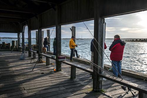 pier town marthas vineyard dock fishermen massachusetts coal edgartown