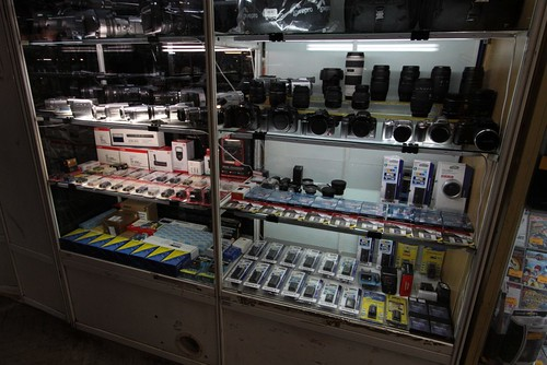 Selection of camera equipment on sale | by Marcus Wong from Geelong