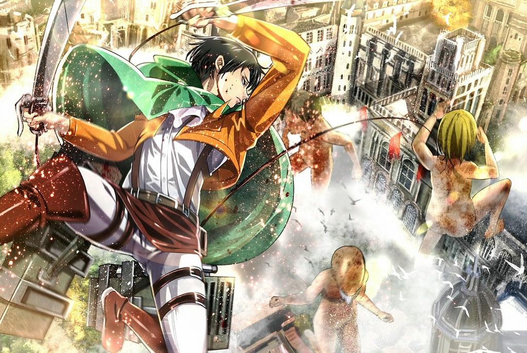 Levi Attack On Titan Shingeki No Kyojin Anime Hd Wallpaper