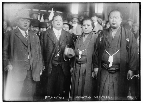 Hidachiyama & Umegatani, wrestlers (LOC) | by The Library of Congress