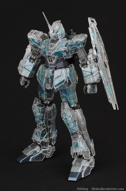 MG Clear Full Armor Unicorn - Snap Fit 20