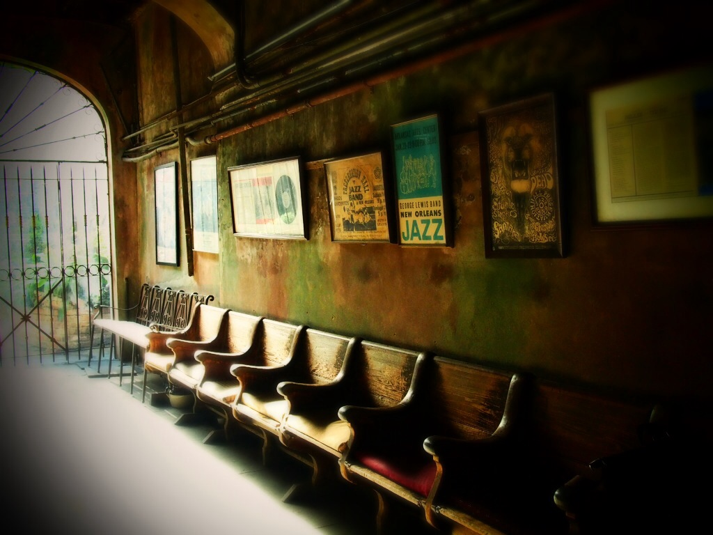 Inside Preservation Hall, New Orleans
