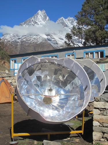 solar cooker 1 | by Parahamsa