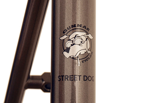 <p>Gunnar Street Dog Seat Tube Logo with Bullseye Decal Set</p>