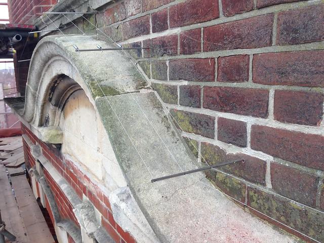 Proofing wide ledges