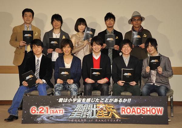 140304(2) -「黃金聖鬥士」超強聲優陣容登場、劇場版《聖闘士星矢 LEGEND of SANCTUARY》於6/21上映!