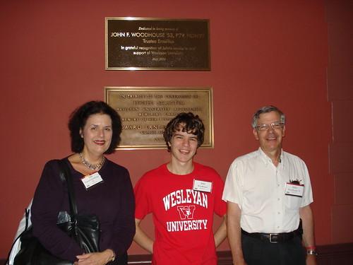Deb, JP, & JC at Wes Chapel, 9-14