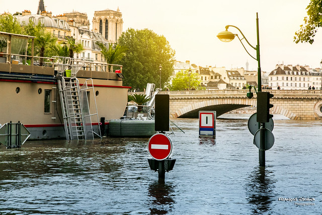The Seine spate - june 2016