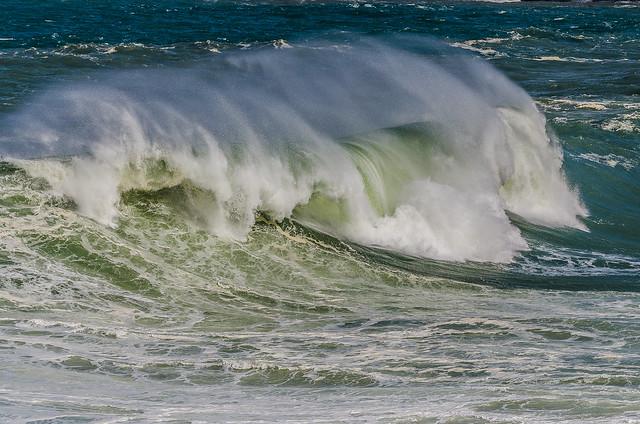 Ressaca no mar