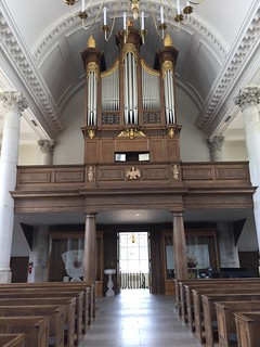 church organ and choir loft | by henskechristine