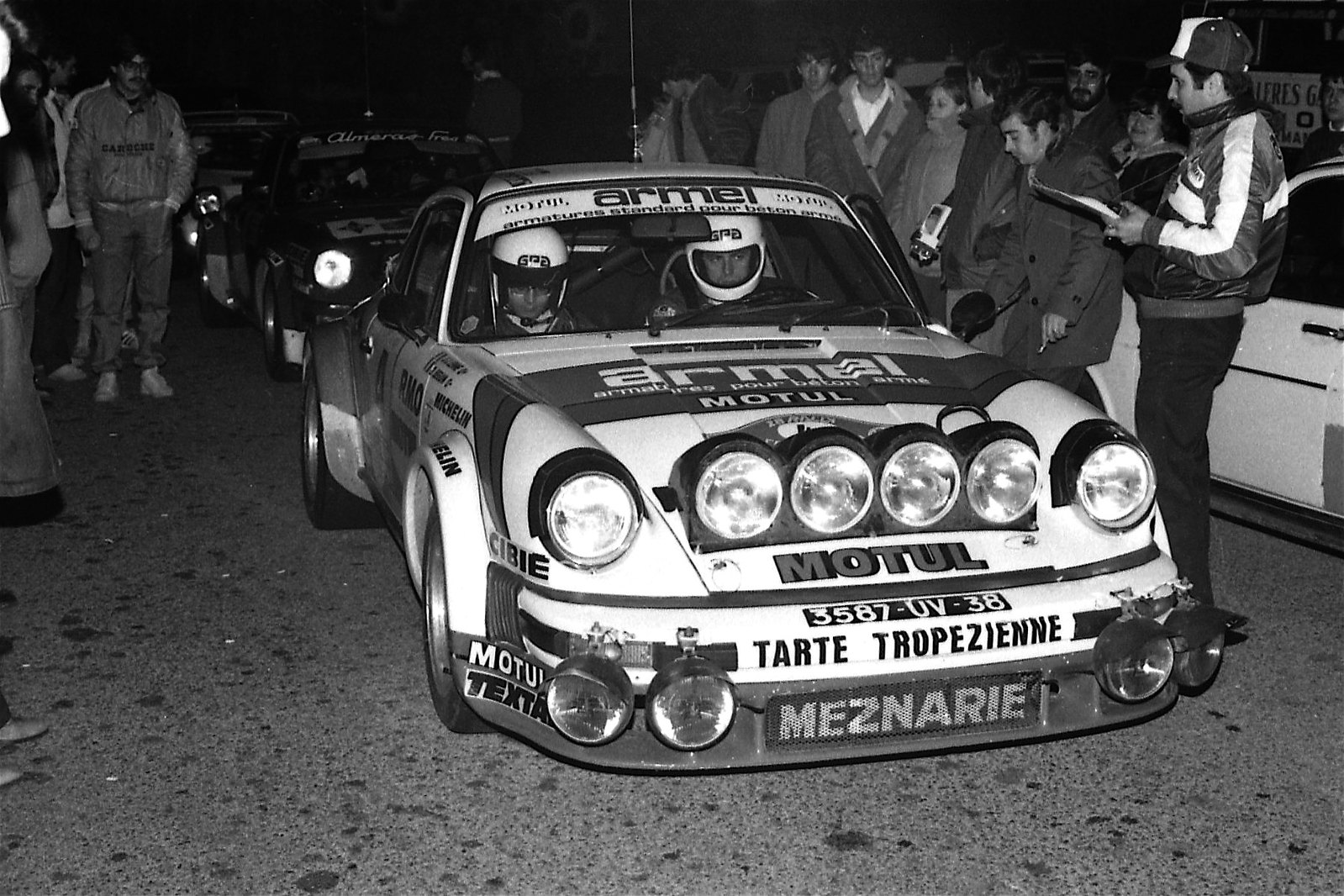 BERNARD BEGUIN  RALLY COSTA BRAVA 1980 PORCHE 911 SC