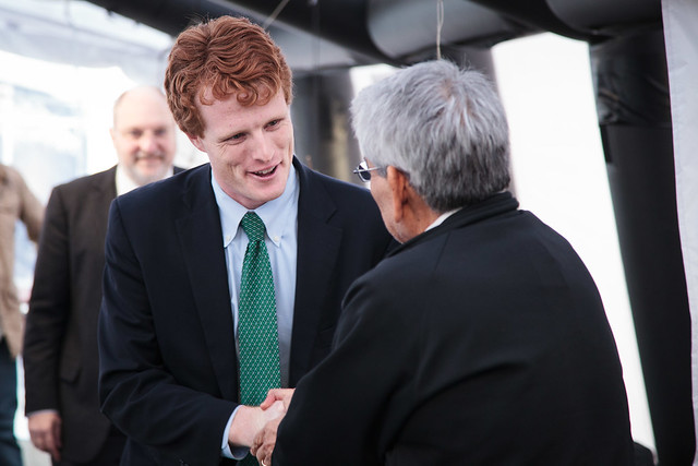 Rep. Joe Kennedy visit